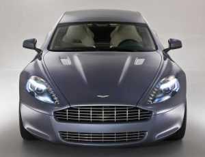 Внешний вид Aston Martin Rapide