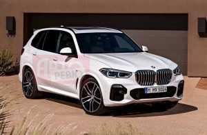 Новый кроссовер BMW X5 показали без камуфляжа