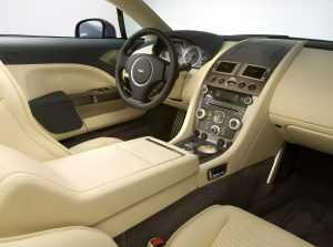 Салон Aston Martin Rapide