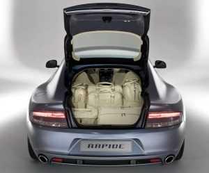 Багажник Aston Martin Rapide