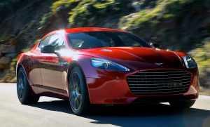 Внешний вид Aston Martin Rapide S