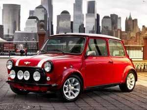 Mini превратился в электромобиль
