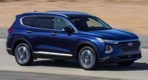 Появилась информация о крупном кроссовере Hyundai