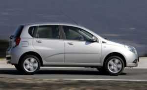 Внешний вид Chevrolet Aveo T250