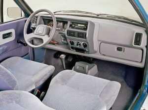 Салон Ford Fiesta II
