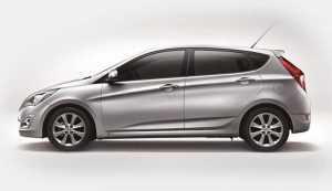 Хэтчбек Hyundai Солярис, рестайлинг