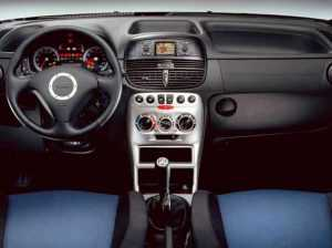 Салон Fiat Punto 188