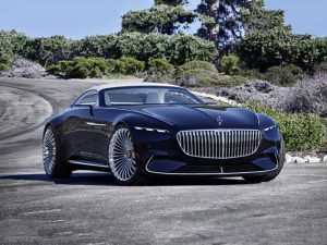 У Мерседес-Бенз появится представительский электромобиль