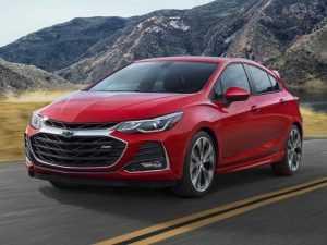 Chevrolet обновили сразу три модели авто