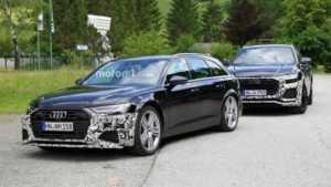 В сети появились фото Audi RS6 Avant