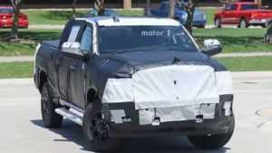 В сети появились фото обновленной модели Ram 2500