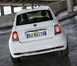 Хэтчбек Fiat 500, рестайлинг