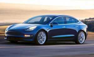 Tesla Model 3 выйдет в полноприводном исполнении