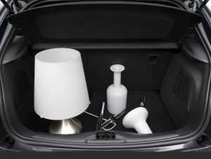 Багажник хэтчбека Citroen DS3