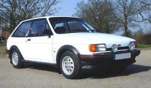 Хэтчбек Ford Fiesta XR2