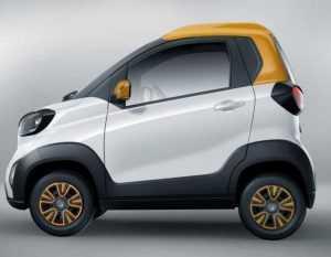 Компактный электромобиль Baojun e100 был модернизирован