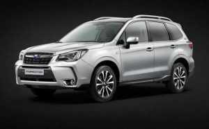 Выпущена юбилейная версия Subaru Forester