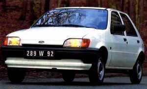 Внешний вид 5-дв. хэтчбека Форд Фиеста 3