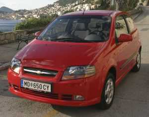 3-дв. хэтчбек Chevrolet Aveo T200