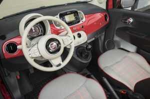 Салон Fiat 500