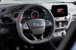 Салон Ford Fiesta ST