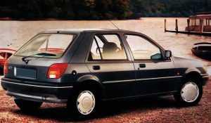 Внешний вид 5-дв. хэтчбека Ford Fiesta III