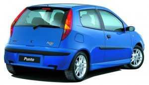 3-дв. хэтчбек Fiat Punto 188