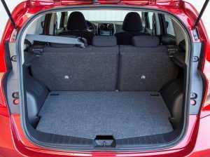 Багажное отделение Nissan Note II