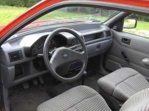 Салон Ford Fiesta III