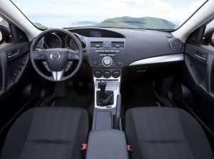 Салон Mazda 3 BL
