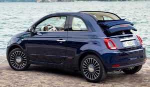 Кабриолет Fiat 500