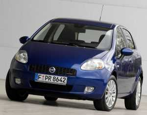 Внешний вид 5-дв. хэтчбека Fiat Grande Punto 199