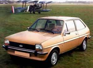 Внешний вид Ford Fiesta I