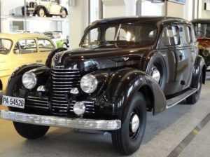 Первый автомобиль Skoda Superb