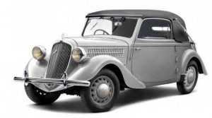 Седан-кабриолет Рапид 1935─1947 гг.