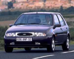 Внешний вид Форд Фиеста 4