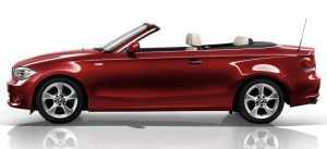кабриолет BMW 1 серии, рестайлинг
