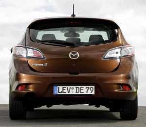 Внешний вид Mazda 3 BL рестайлинг