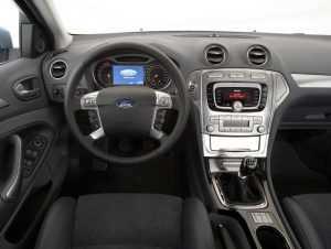 Салон Ford Mondeo MK IV