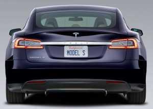 Внешний вид Tesla Model S