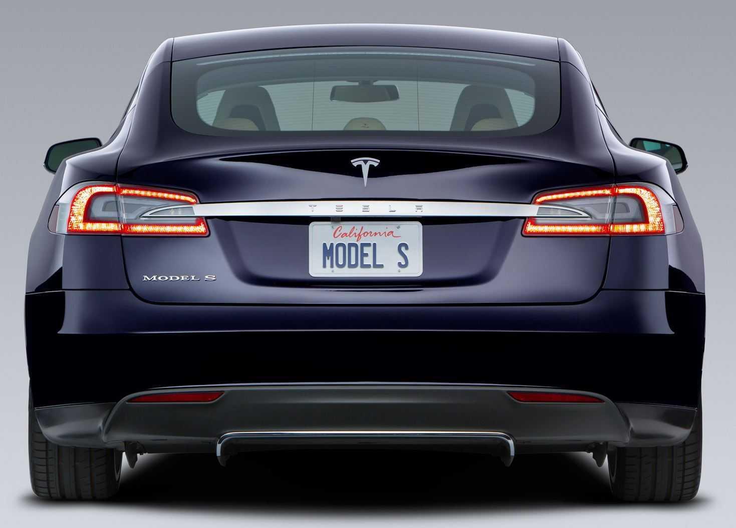 Картинки по запросу Tesla Model S сзади