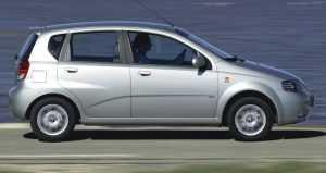 Внешний вид хэтчбека Chevrolet Aveo T200