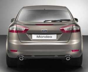 Внешний вид лифтбека Форд Мондео рестайлинг