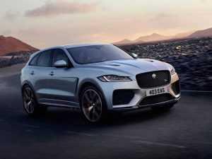 Jaguar представили «заряженную» версию F-Pace SVR