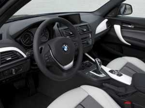 Интерьер BMW 1