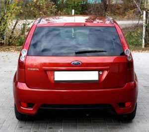Внешний вид Ford Fiesta V