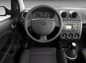 Салон Ford Fiesta V