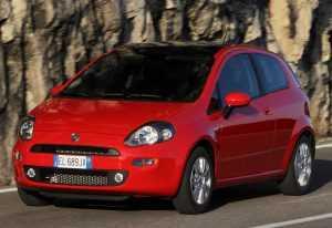 Внешний вид 3-дв. хэтчбека Fiat Punto, 2-й ресталинг