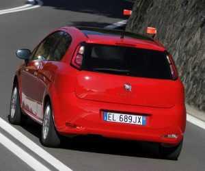 Экстерьер 3-дв. хэтчбека Fiat Punto, 2-й ресталинг