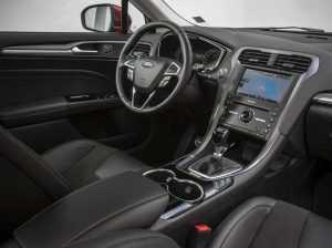 Интерьер лифтбека Ford Mondeo Mk V